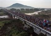 Mexique: la caravane de migrants fait route vers Mexico