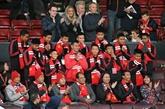 Angleterre: les footballeurs rescapés de la grotte en Thaïlande invités à Old Trafford