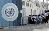 Gaza: les opérations de l'agence pour les réfugiés paralysées par la grève