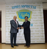 Ukraine: l'Ordre de l'État de droit et de la justice à l'ambassadeur Nguyên Anh Tuân