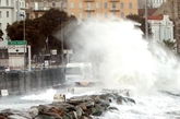 Tempête en Corse: la Corse du sud passe à l'orange, la Haute-Corse reste en rouge
