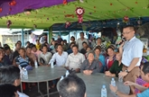 L'ambassadeur du Vietnam rencontre des Cambodgiens d'origine vietnamienne