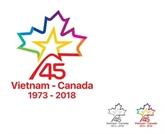 Remise de prix du concours de création des logos Vietnam - Canada