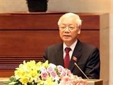 Félicitations des dirigeants étrangers au nouveau président Nguyên Phu Trong