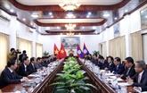 Vietnam - Laos: le PCV et le PPRL renforcent leur coopération