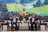 Les dirigeants laotiens apprécient la coopération entre le PPRL et le PCV