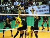 Clôture du tournoi international de volley-ball - Coupe de la Télévision de Vinh Long