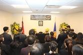Cérémonie funéraire en mémoire de l'ancien secrétaire général Dô Muoi à New York