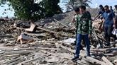 Séisme en Indonésie: le président inspecte les opérations de secours