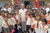 Cérémonie funéraire en mémoire de l'ancien secrétaire général du PCV, Dô Muoi, au Japon