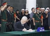 L'ancien secrétaire général Dô Muoi souvenu avec des éloges