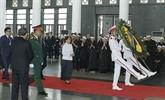 Des dirigeants étrangers expriment leurs regrets pour la mort de l'ancien secrétaire général Dô Muoi