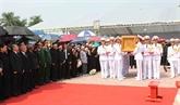 Cérémonie d'enterrement de l'ancien secrétaire général du PCV, Dô Muoi