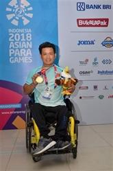 Asian ParaGames 2018: première médaille d'or pour le Vietnam