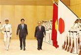 le PM Nguyên Xuân Phuc arrivé à Tokyo entamer sa visite officielle au Japon