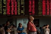 La tension Chine - USA fait plonger la Bourse de Shanghai: -3,72% en clôture