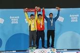 Jeux olympiques de la jeunesse dété: deux médailles pour le Vietnam en haltérophilie