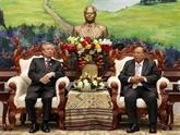 Une délégation du PCV en visite officielle au Laos