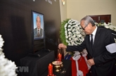Cérémonies en mémoire de l'ancien secrétaire général Dô Muoi à l'étranger