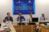 Vision du Vietnam sur la nouvelle structure régionale de l'Indo-Pacifique