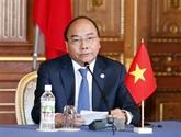 Le Premier ministre Nguyên Xuân Phuc s'adresse au Xe sommet Mékong - Japon