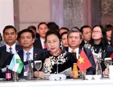 Nguyên Thi Kim Ngân assiste à la cérémonie d'ouverture de la MSEAP 3