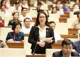 Dernier jour des interpellations de la 6e session de l'Assemblée nationale