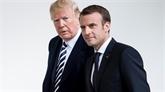 Macron: rencontre orageuse en vue avec Trump, avant une commémoration symbolique avec Merkel
