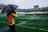 Copa Libertadores: la pluie reporte le choc Boca-River à dimanche