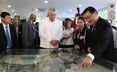 Le président cubain étudie le modèle de technopole de Hô Chi Minh-Ville