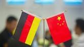Le dialogue Chine - Allemagne revêt une importance stratégique