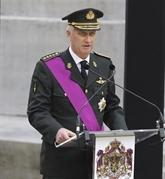 Le roi Philippe de Belgique appelle à la construction d'un monde de paix