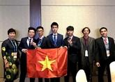 Le Vietnam primé aux Olympiades internationales d'astronomie et d'astrophysique 2018