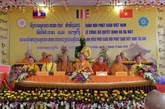 Le comité de coordination de l'Église bouddhique du Vietnam au Laos voit le jour