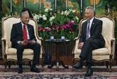 La Malaisie cherche à établir un partenariat compétitif avec Singapour