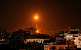 Barrage de roquettes palestiniennes, frappes israéliennes à Gaza