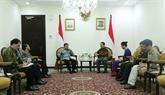 Le Vietnam et l'Indonésie renforcent les relations de coopération
