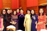 La présidente de l'AN Nguyên Thi Kim Ngân reçoit des députées