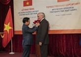 Les distinctions honorifiques du Vietnam décernées à des cadres du FSO