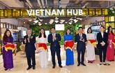 Une zone de promotion du commerce du Vietnam à Shanghai