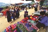 Le pittoresque marché de Xá Nhè à Diên Biên