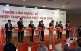 L'exposition internationale Vietnam Foodexpo 2018