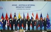 L'Australie s'engage à renforcer sa coopération avec l'ASEAN