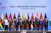 Le PM assiste à un petit déjeuner informel réunissant les leaders de l'ASEAN et l'Inde