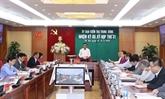 La Commission centrale du contrôle du Parti tient sa 31e réunion à Hanoï