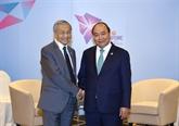 Renforcer les relations avec le Brunei et la Malaisie