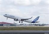 Le premier Airbus A321neo remis à Vietnam Airlines