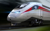 Inaugurer le train à grande vitesse