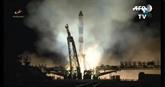 Premier décollage d'une fusée Soyouz vers l'ISS depuis le lancement raté
