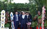 Sommet de l'APEC: Nguyên Xuân Phuc arrive en Papouasie-Nouvelle-Guinée